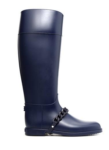 Givenchy Lastik Yağmur Çizmesi Lacivert